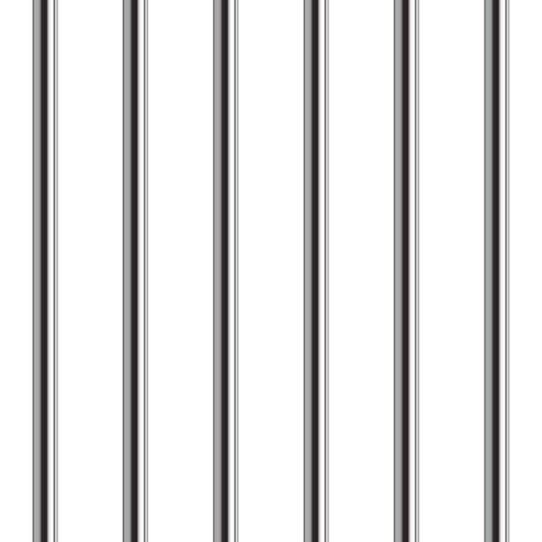 gefängnis bar musterdesign. realistische vektor-illustration. - gitter stock-grafiken, -clipart, -cartoons und -symbole