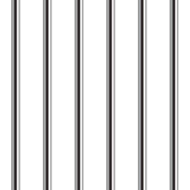 gefängnis bar musterdesign. realistische vektor-illustration. - freiflächen stock-grafiken, -clipart, -cartoons und -symbole