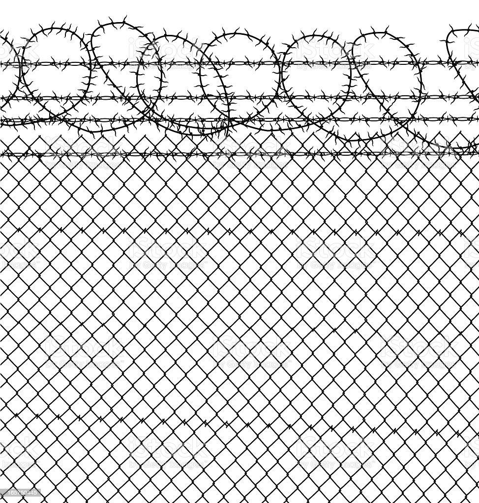Prison Barbed Wire Clip Art - WIRE Center •