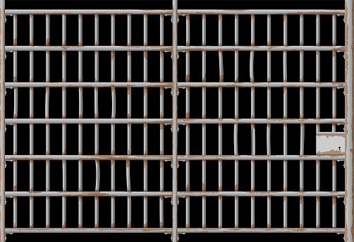 Prison Jail Rusty Door