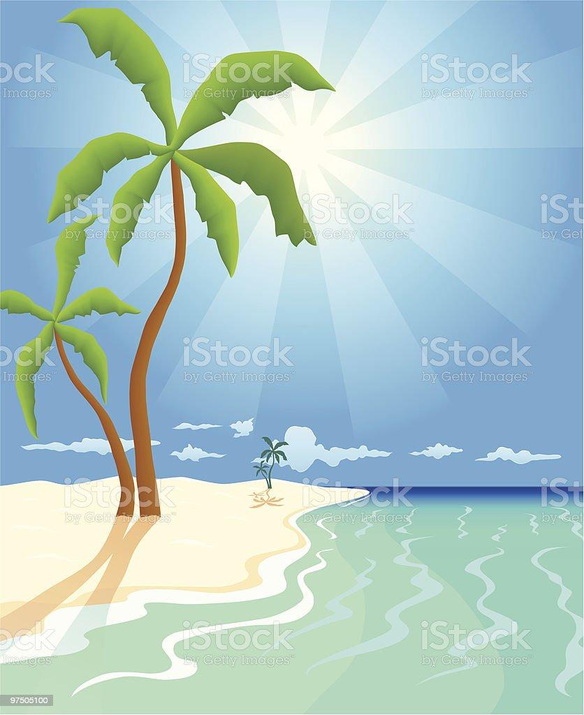 Pristine Beach royalty-free pristine beach stock vector art & more images of beach