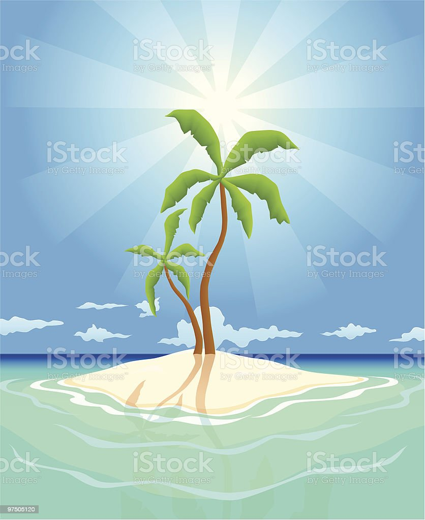 Pristine Island royalty-free pristine island stock vector art & more images of abandoned