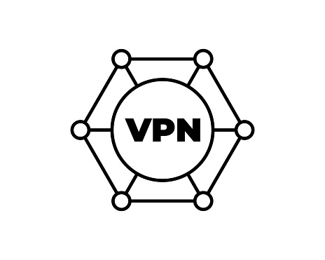 Private network icon. Trendy flat vector Private network icon on white background from Internet Security and Networking collection, vector illustration can be use for web and mobile, eps10