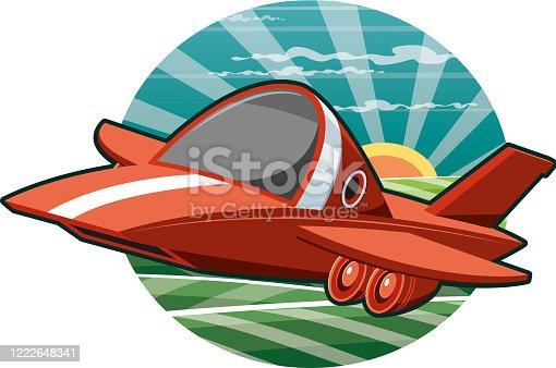 istock Private plane 1222648341