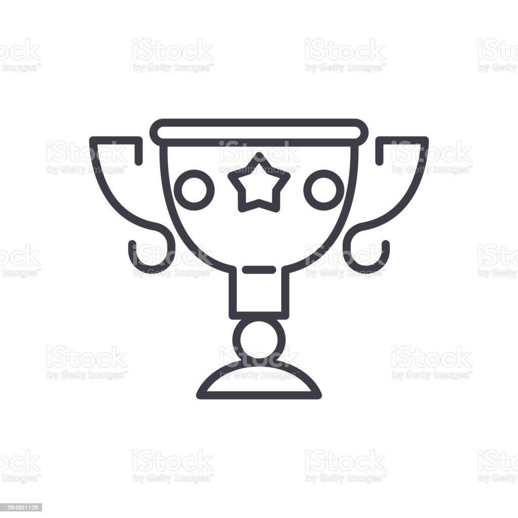 Prize bounty black icon concept. Prize bounty flat  vector symbol, sign, illustration. royalty-free prize bounty black icon concept prize bounty flat vector symbol sign illustration stock vector art & more images of abundance