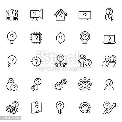 Problem icons