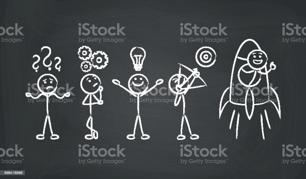 problem solving business concept royalty-free problem solving business concept stock illustration - download image now