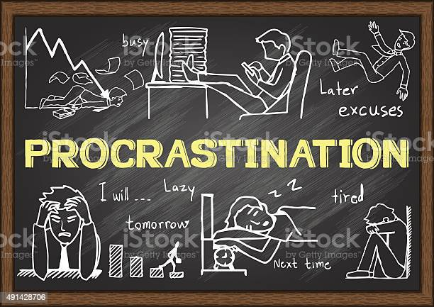 Procrastination vector id491428706?b=1&k=6&m=491428706&s=612x612&h=u1cjeww727gapcfodnnzd4tn5qyf4nytyzvcubijmyo=