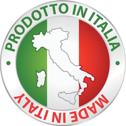 Prodotto In Italia Made In Italy Etichetta Del Prodotto - Immagini  vettoriali stock e altre immagini di Affari internazionali - iStock