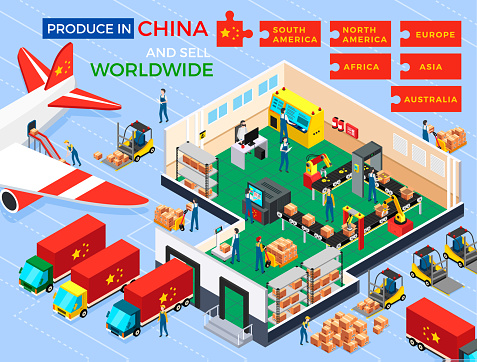 Produce in China Sell Worldwide, Africa America