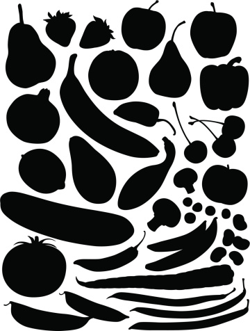 Produce Silhouettes