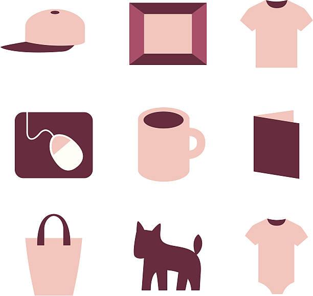 produkt-symbole - mauspad stock-grafiken, -clipart, -cartoons und -symbole