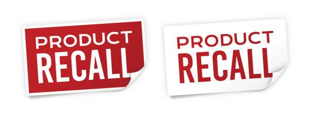 產品召回貼紙 - 不完整 幅插畫檔、美工圖案、卡通及圖標