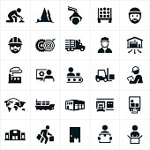 Product Supply Chain Icons