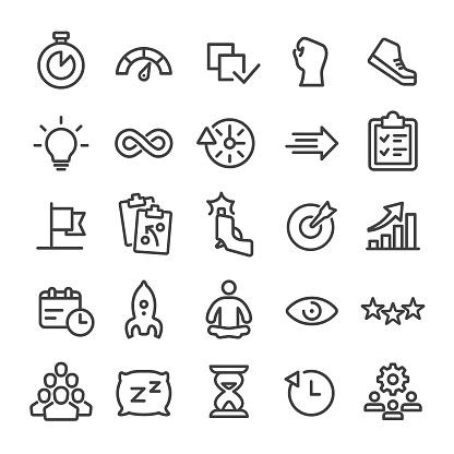 Productivity Icon - Smart Line Series
