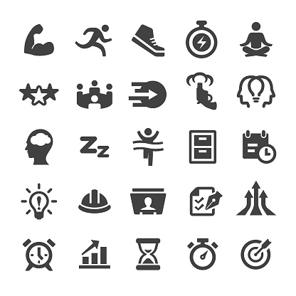 Productivity Icons Set - Smart Series