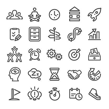 Productivity Icons - Smart Line Series