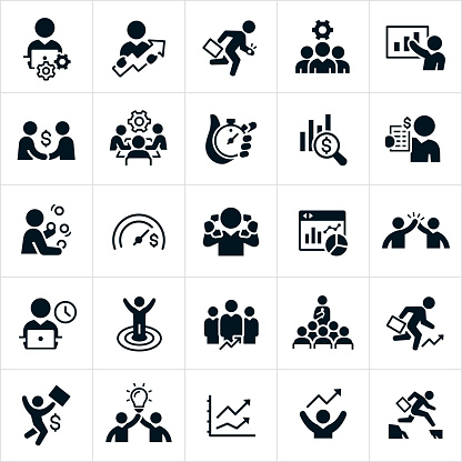 Productivity Icons clipart