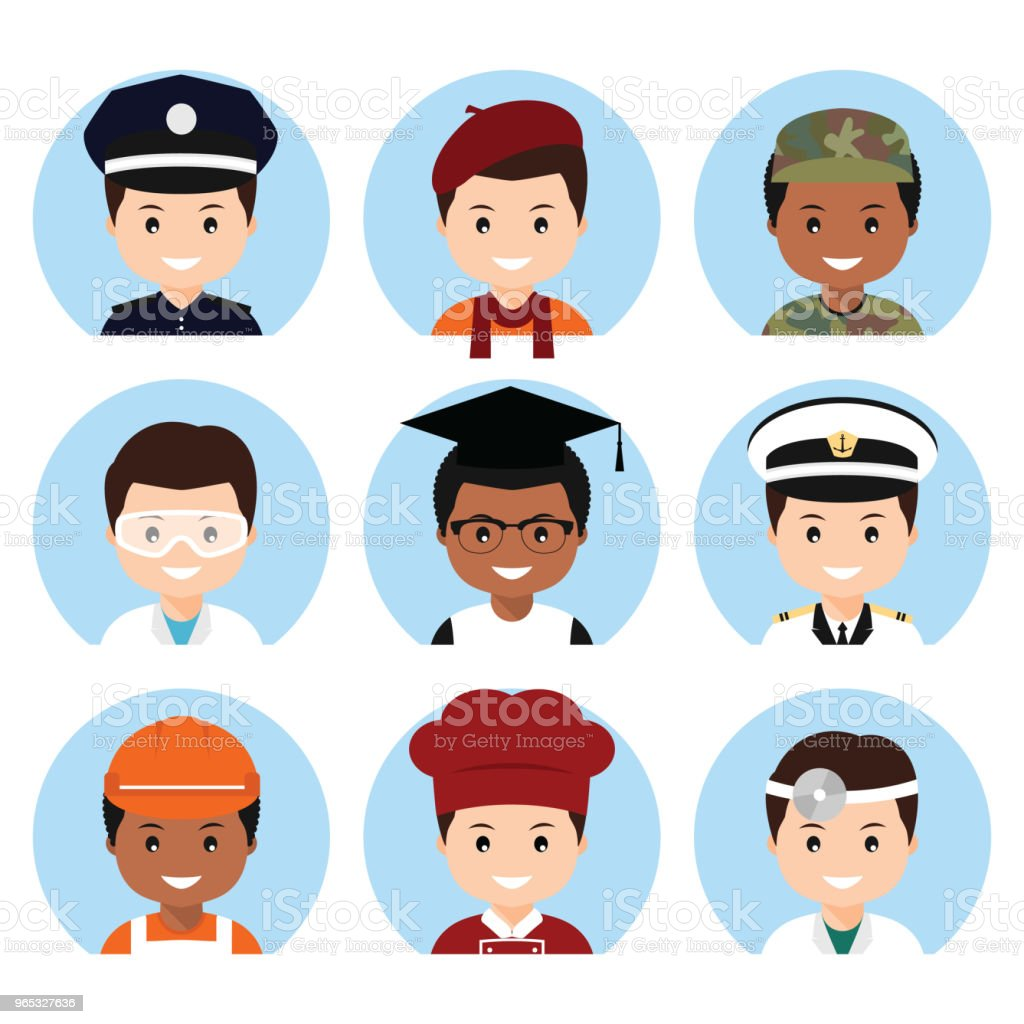 Profession people. profession people - stockowe grafiki wektorowe i więcej obrazów artysta royalty-free