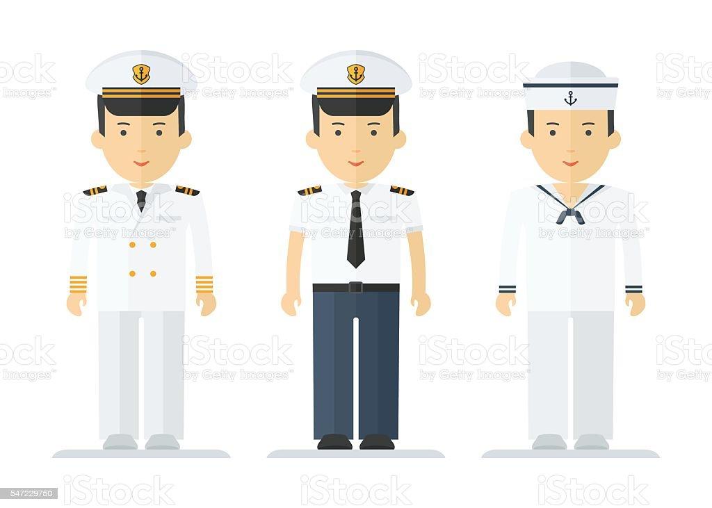 profession sailor mans suits