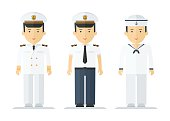 profession sailor mans suits