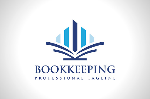 Professional Accounting Bookkeeping Logo Design