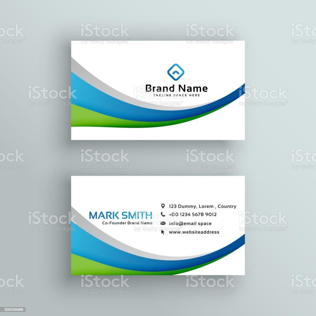 Professional business card vector design arte vetorial de stock e professional business card vector design professional business card vector design arte vetorial de stock e reheart Gallery