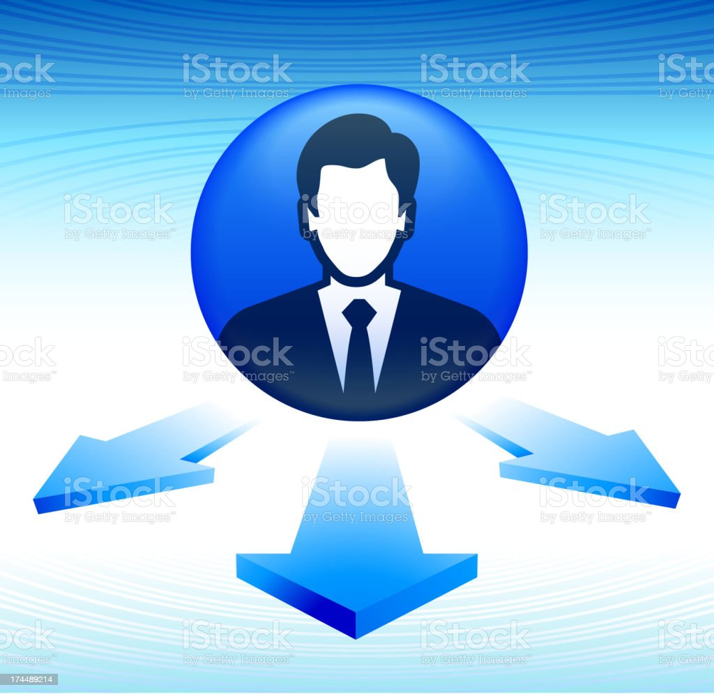 Professional Business Choices and Career Paths royalty-free professional business choices and career paths stock vector art & more images of arrow symbol