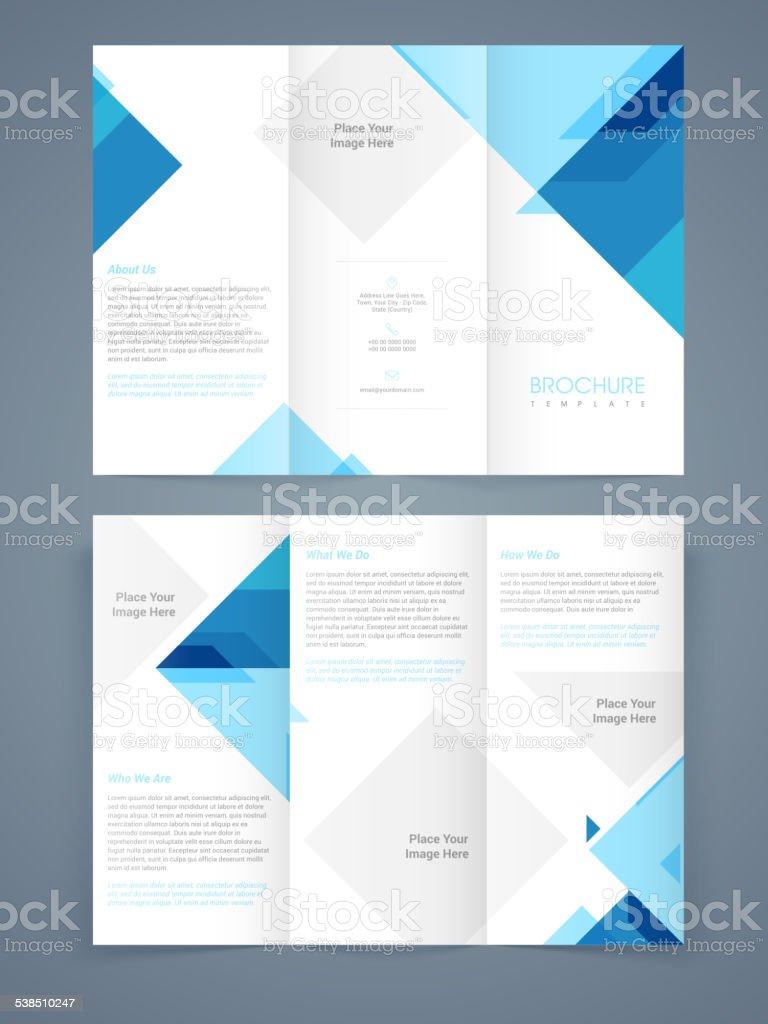 Professional business flyer, banner or template. vector art illustration