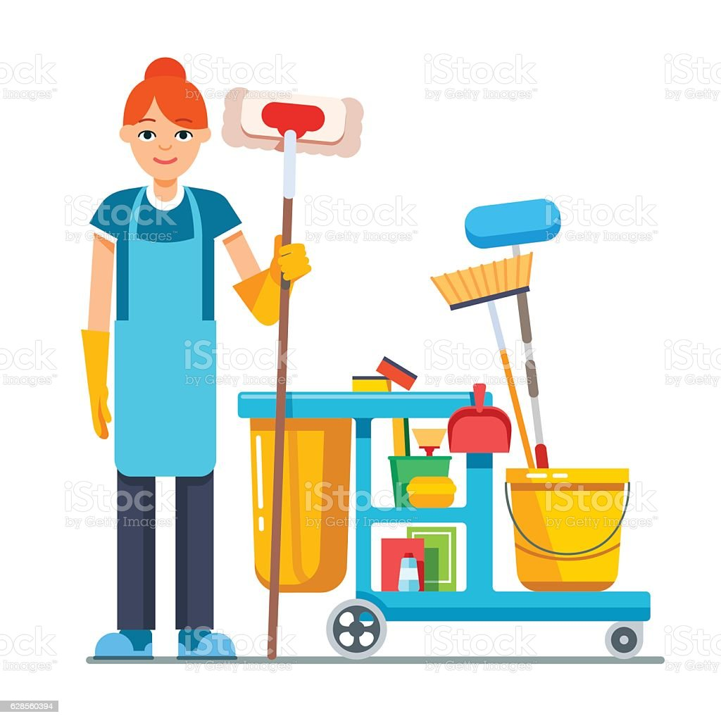 royalty free janitor clip art vector images illustrations istock rh istockphoto com janitorial clipart free
