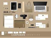 Professional corporate identity kit.