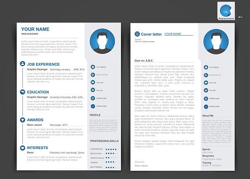 Professional cv, resume template