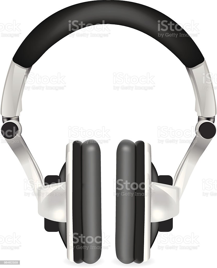 Professional icon of the headphones royalty-free professional icon of the headphones stock vector art & more images of audio equipment