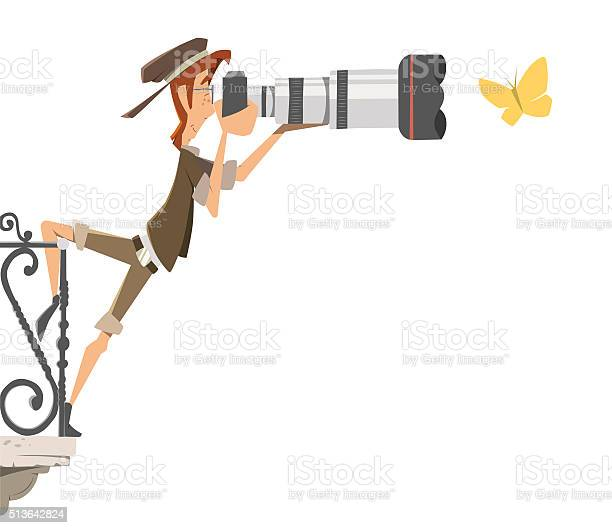 Professional man paparazzi photographer with big camera lens vector id513642824?b=1&k=6&m=513642824&s=612x612&h=gmydfyttcktracmway3i cirp1oyjdw xv epebjmci=
