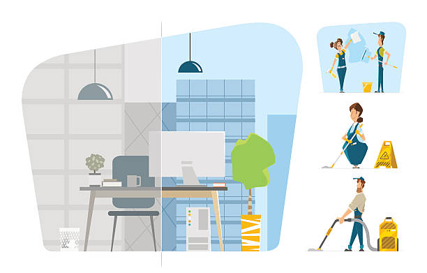 Royalty Free Janitor Clip Art, Vector Images ...