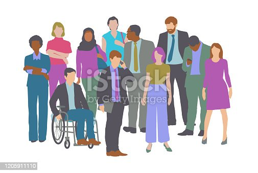 istock Professional or Business people 1205911110