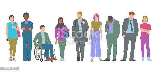istock Professional or Business people 1205911151