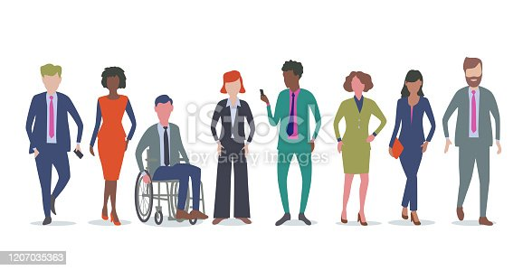 istock Professional or Business people 1207035363