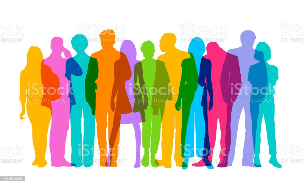 Professional or Business people vector art illustration