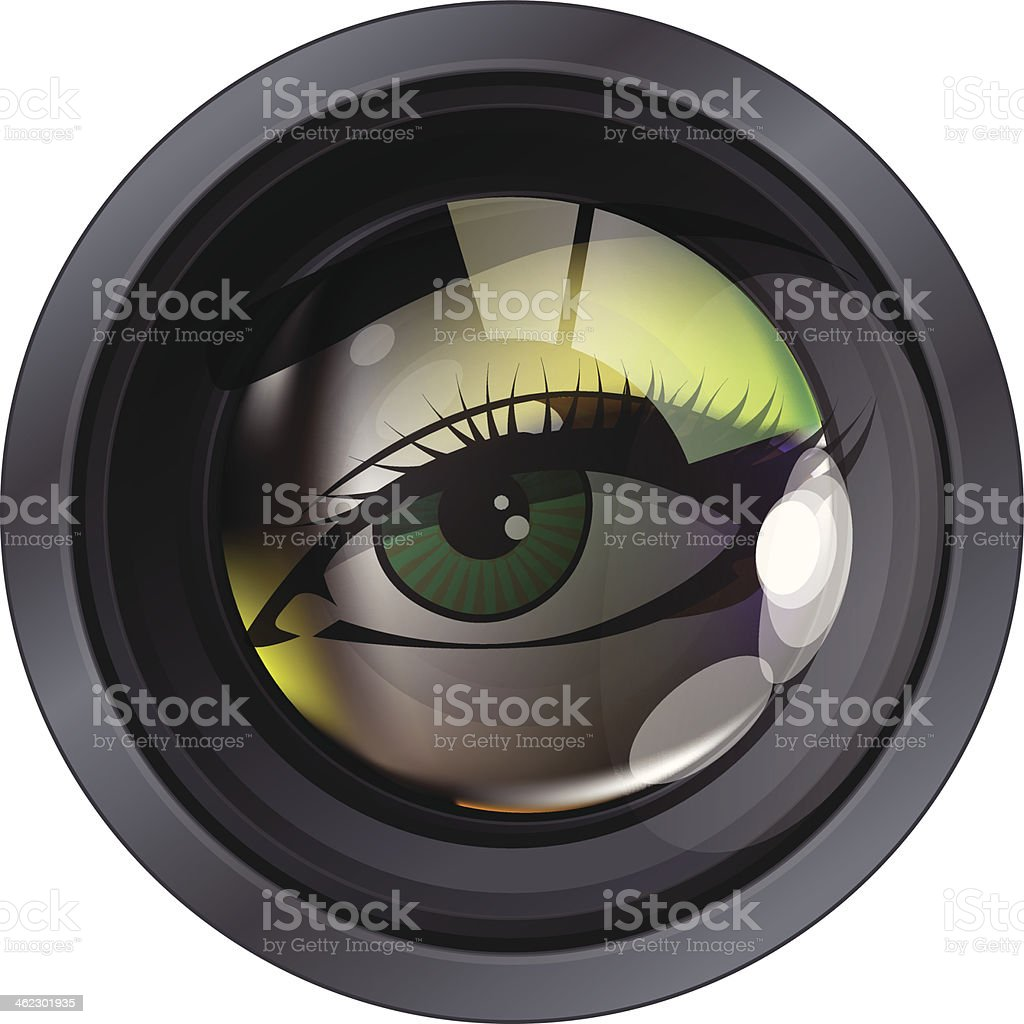 Professional photo lens royalty-free professional photo lens stock vector art & more images of abstract