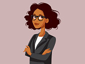 istock Professional Portrait of a Strong Business Woman 1256641175