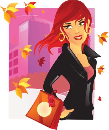 Professional Retail Girl
