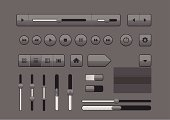 Professional user interface elements for your multimedia projects.