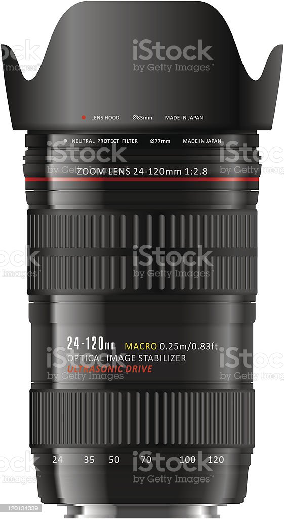 Professional zoom lens royalty-free professional zoom lens stock vector art & more images of angle