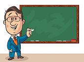 Vector Professor and Blackboard