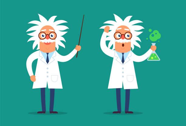 ilustrações de stock, clip art, desenhos animados e ícones de professor copy - scientist