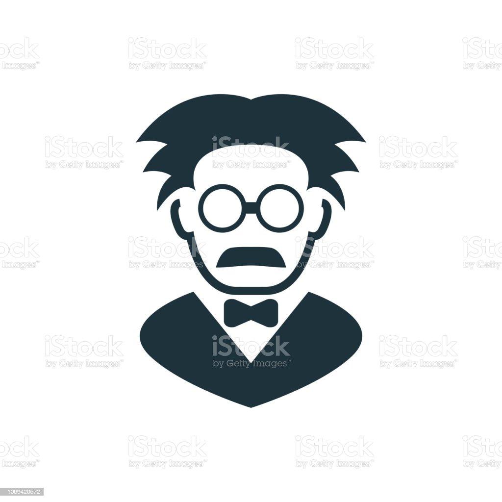 Ícone do professor - ilustração de arte em vetor