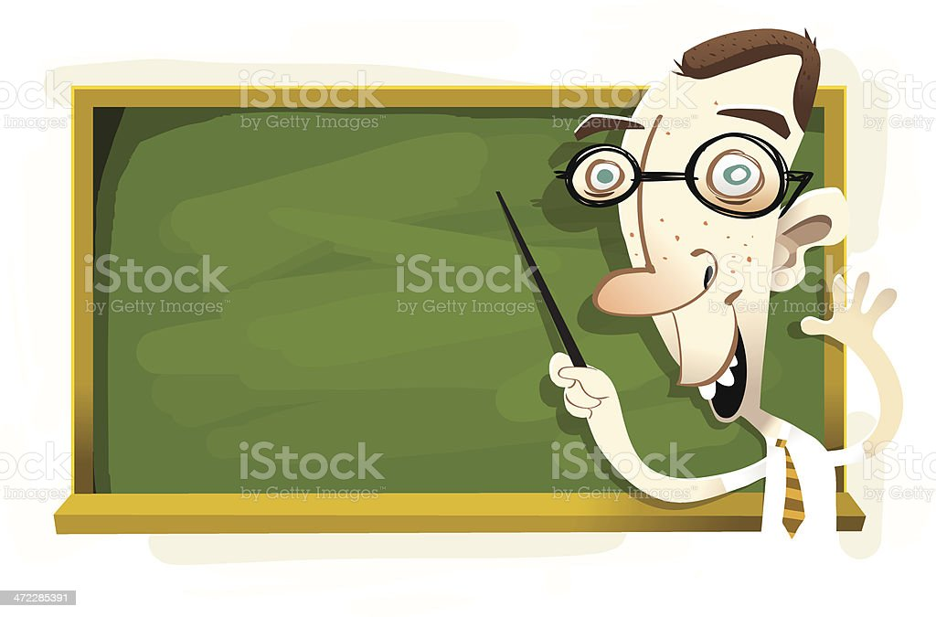 Professor royalty-free stock vector art
