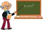 Vector professor.