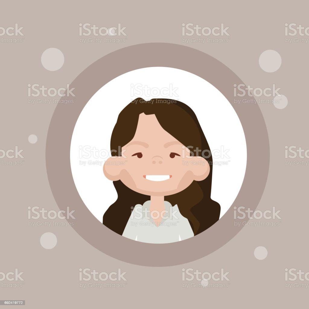 Vetores De Perfil Icone Avatar Feminino Retrato Dos Desenhos